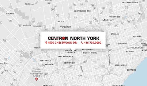 Centron Storage Locations